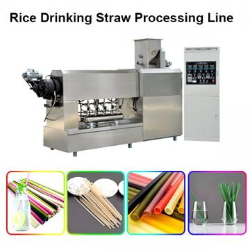 Pasta Straw Drink Tube Processing Line
