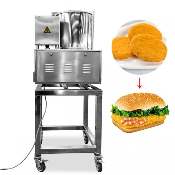 China Automatic Meat Patty Forming Machine Cost-Effective Hamburger Patty Making Line #1 image