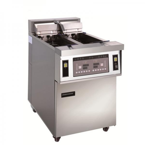 Full Automatic Potato Chips Crisp Deep Fryer Machine Snack Food Frying Machine #1 image