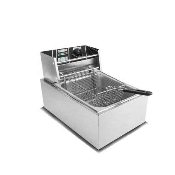 Kfc Chicken Frying Machine Peanut Deep Fryer Crisp Frying Produce Line Machine #1 image