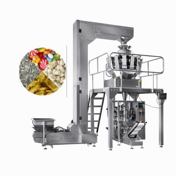 Semi Auto Two Outlet Weighing and Packaging Machinery for Puffy Food #1 image