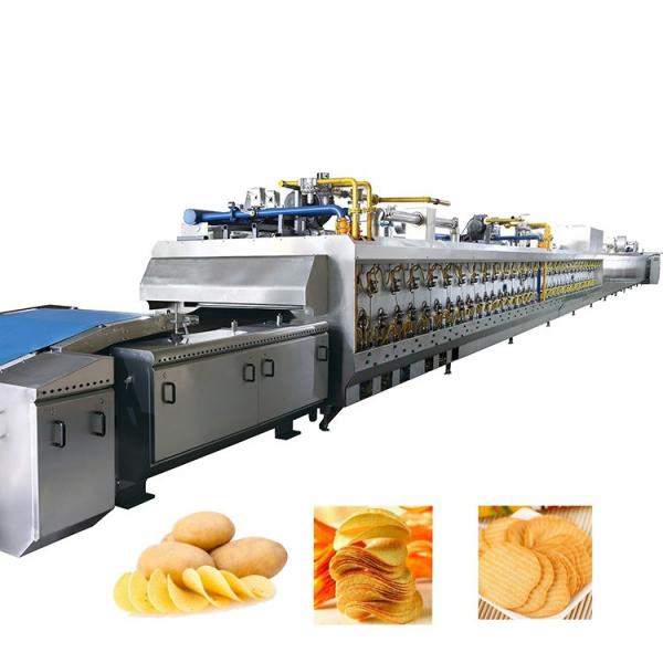 Commercial Automatic Fried Potato Chips Processing Machine #1 image