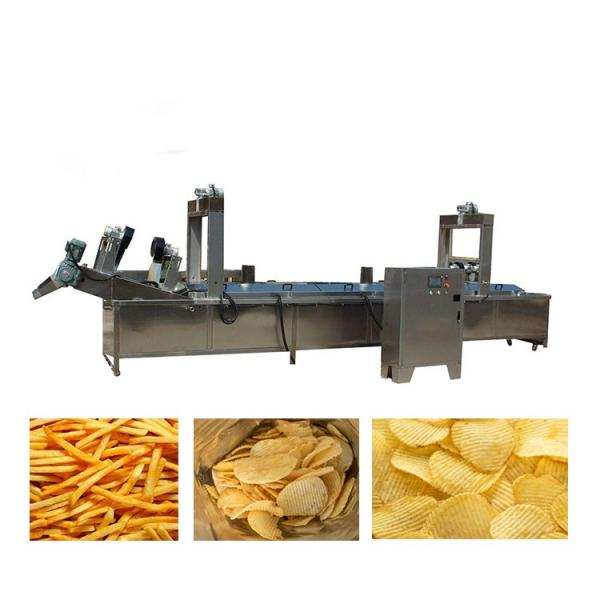 Commercial Ce Approved Standing with Potato Chips Frying Machi with Potato Chips Frying Machine #2 image