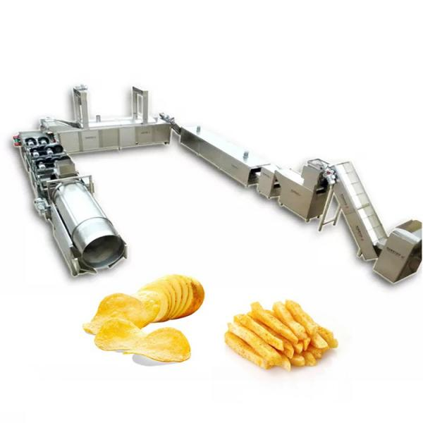 Fryer Equipment Potato Chip Banana Chips Frying Production Line Snack Food Processing French Fries Making Machine #2 image