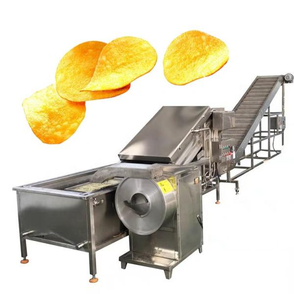 Double Screw Breakfast Cereal Corn Pellet Frying Choco Chips Pan Puff Snacks Cheese Ball Artificial Rice Soyabean Protein Bread Food Processing Making Machine #2 image
